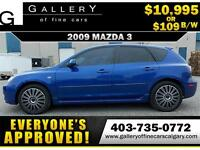 2009 Mazda Mazda3 GS $109 Bi-Weekly APPLY NOW DRIVE NOW