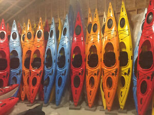 Riot Edge 13 ft touring kayaks with skeg On Sale Now!!!