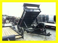 WINTER CLEARANCE**   10 000lb/ 6 x 12 Dump Trailer