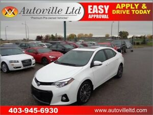 2014 Toyota Corolla S SPORT LEATHER BCAM