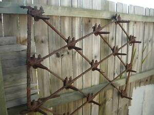 Old Garden tractor plough Deco design piece or tool hanger Mango Hill Pine Rivers Area Preview