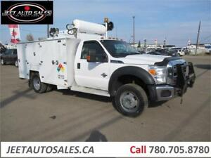 2012 Ford F550 XLT 4x4 Service Truck