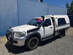 2007 Ford Ranger White Automatic Utility