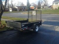 Curtis 5x8 ft Utility Trailer