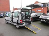 Peugeot Partner wheelchair accessible, disabled access, mobility scooter car