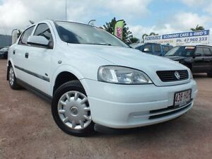 2002 Holden Astra TS MY03 SXI White 5 Speed Manual Hatchback Rosslea Townsville City Preview