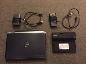 Dell Latitude E6430s with SSD & Docking Station. Windows 10 Pro