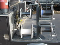 Welding Cable Spools for Portable Truck