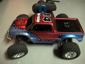 RC Losi Truck, 3300 Dynamite Brushless Motor,