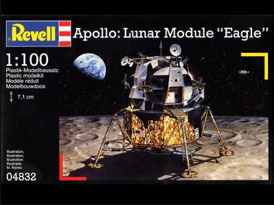 """RAR! Revell 04832 Apollo: Lunar Module """"Eagle"""" - 1:100 - OVP RAR!"""