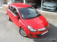 VAUXHALL CORSA 1.4 SE 5d 98 BHP 15620m- One Lady Owner-Superb (red) 2013