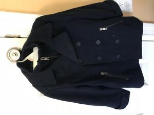 Boys Navy Blue Winter Coat