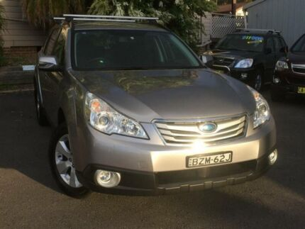 2011 Subaru Outback MY11 2.5I Touring Silver Continuous Variable Wagon North Gosford Gosford Area Preview