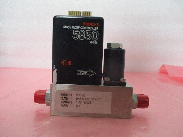 Brooks 5850C Mass Flow Controller, MFC, AR, 100 SCCM, 418946