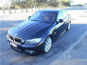 2010 BMW 320i E90 MY10.5 Lifestyle Steptronic Black 6 Speed Sports Automatic Sedan Hamilton East Newcastle Area Preview