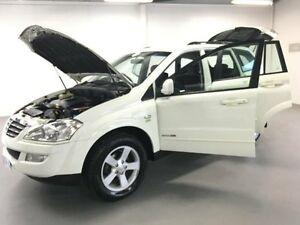 2012 Ssangyong Kyron D100 MY09 2.0 XDI White 6 Speed Automatic Wagon Frankston Frankston Area Preview