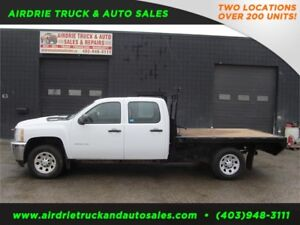 2011 Chevrolet Silverado 3500HD WT 9 Foot Flat Deck
