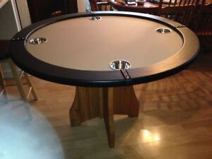 New hand made poker table with super comfortable chairs Gatineau Ottawa / Gatineau Area image 4