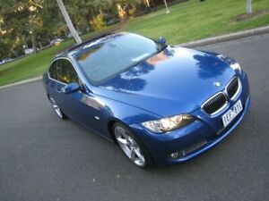 2007 BMW 335i E92 Blue 6 Speed Auto Steptronic Coupe North Melbourne Melbourne City Preview