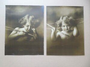 Vintage TABER PRANG LARGE Sepia Prints 17