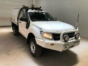 2012 Ford Ranger PX XL 2.2 (4x4) White 6 Speed Manual Cab Chassis Bohle Townsville City Preview