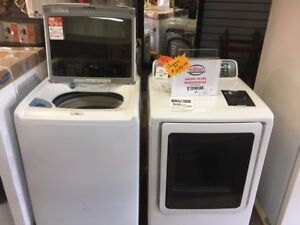 HIGH EFFICIENCY TOP LOAD LAUNDRY PAIRS BLOWOUT