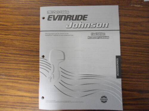 5005341, Johnson 2002 Parts, Accessory Catalog, OMC