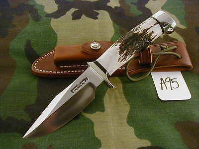 RANDALL KNIFE KNIVES #23,SS,NSSHSQ,ALL-BL.S,STAG,DCBB, #A95