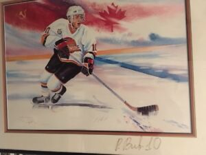 Pavel Bure Limited Edition Print , Personally signed - $500