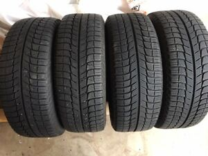4 Michelin X-Ice SNOW 205/55R16 on 5x114.3 Rims
