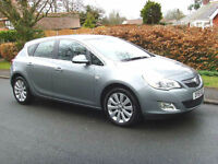 Vauxhall Astra 1.6i VVT 16v SE( 115ps ) 2012MY FSH HALF LEATHER