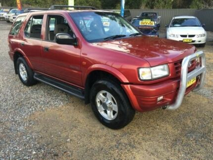 1999 Holden Frontera MX (4x4) Maroon 5 Speed Manual Wagon Jewells Lake Macquarie Area Preview