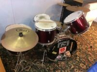 Drum set for quick sale sold as seen £100