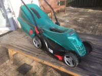 Bosch Rotak 34 - 13 Electric Rotary Lawnmower