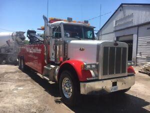 1996 Peterbilt 379 Heavy Wrecker Dewalt Tow Truck