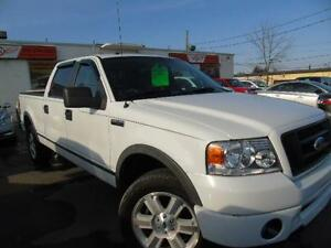 2008 FORD F150 FX4  LEATHER 4 DOOR 4X4