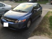 2008 Honda Civic with safety and emission $7000