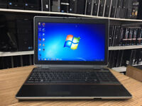 Dell Latitude E6520 Core i7-2640M 2.80GHz 8GB RAM 500GB HDD Win 7 Fast Laptop