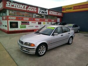 1998 BMW 318i E46 Silver 4 Speed Automatic Sedan Somerton Park Holdfast Bay Preview