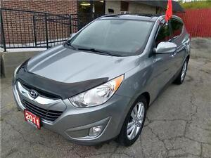 2011 Hyundai Tucson Limited AWD CERTIFIED E-TESTED $140 BI-WKLY