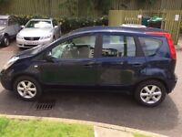 08 Nissan note 1.4 petrol 99k miles 12 months mot £1150