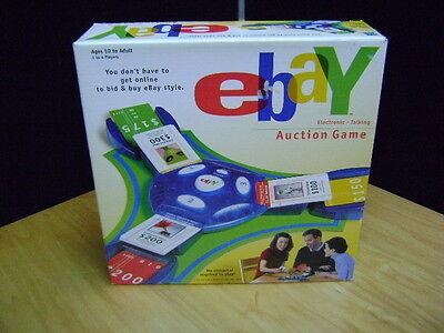 EBAY GAME Electronic Talking Board Game Bid Buy Family Fun Night NOS 2001