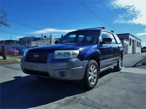 SUBARU FORESTER 2.5 X AWD! MANUAL! CERTIFIED!