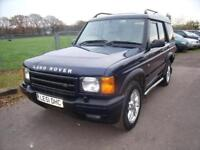 LAND ROVER DISCOVERY TD5 ES AUTO Blue Diesel, 2001