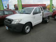 2010 Toyota Hilux WORKMATE White 5 Speed Manual Utility Capalaba Brisbane South East Preview