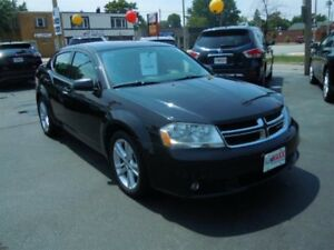 2013 DODGE AVENGER SXT- HEATED FRONT SEATS, SATELLITE RADIO, ALL