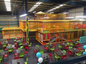 Indoor Soft Play Equipment Job Lot - Ex Soft Play Centre