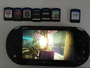 PSVita (second generation) and many games, very low price