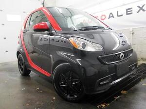 2013 Smart fortwo passion CUIR TOIT PANOR. 20$/SEM SHARP RED
