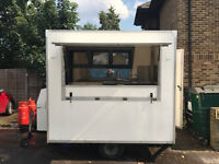 Catering trailer, Box Trailer, Street food